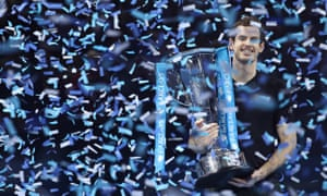 Andy Murray won the ATP Finals at the O2 in 2016
