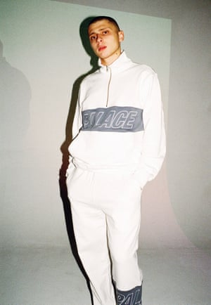 A tracksuit for Palace SS16