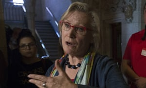 Carolyn Bennett, Canada's indigenous relations minister. The Saskatoon health region has offered a public apology over sterilisations.