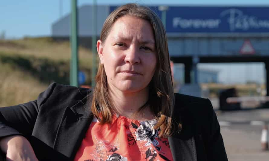 Redcar's Labour MP, Anna Turley