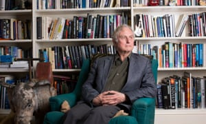 Richard Dawkins in his home.