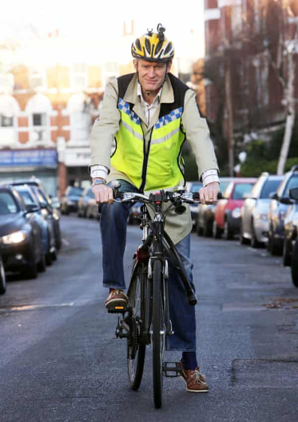 Broadcaster and cyclist Jeremy Vine: 'You can't justify people driving around in two-tonne metal boxes.'