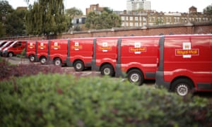Royal Mail profits fall