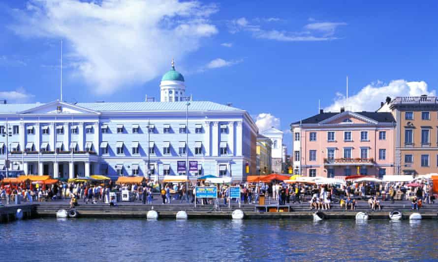 Helsinki Kauppatori marketplace