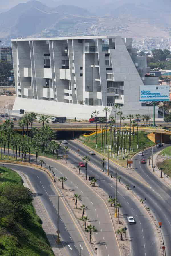 UTEC's urban setting in Lima.