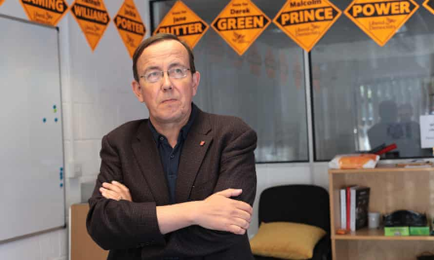 The Winchester Lib Dem councillor Martin Tod.
