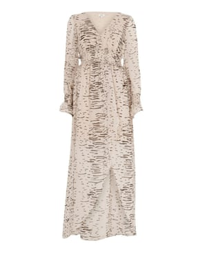 Long-sleeved maxi, £65, riverisland.com