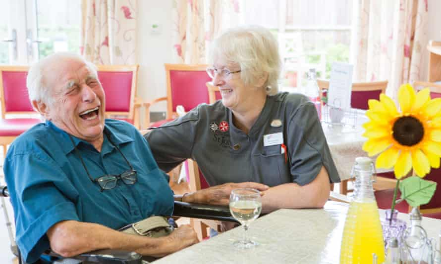 Older people elderly care (model released)