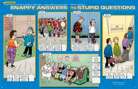 Snappy Answers to Stupid Questions, a staple of Al Jaffee's contributions to Mad