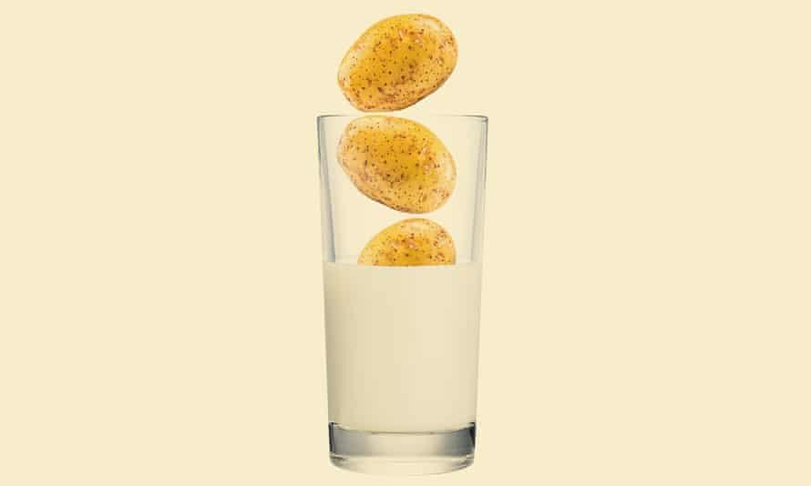 How do you milk a potato?
