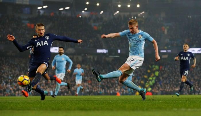 Manchester City Hantam Spurs