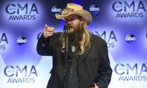 Country guy again: Chris Stapleton