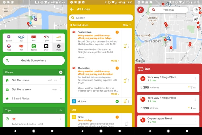 The best transport apps to help you find your way through