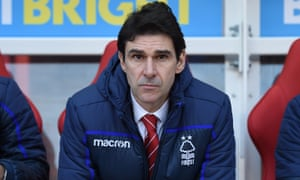 Aitor Karanka joined Nottingham Forest in January 2018 and had guided the club to seventh in the Championship this season