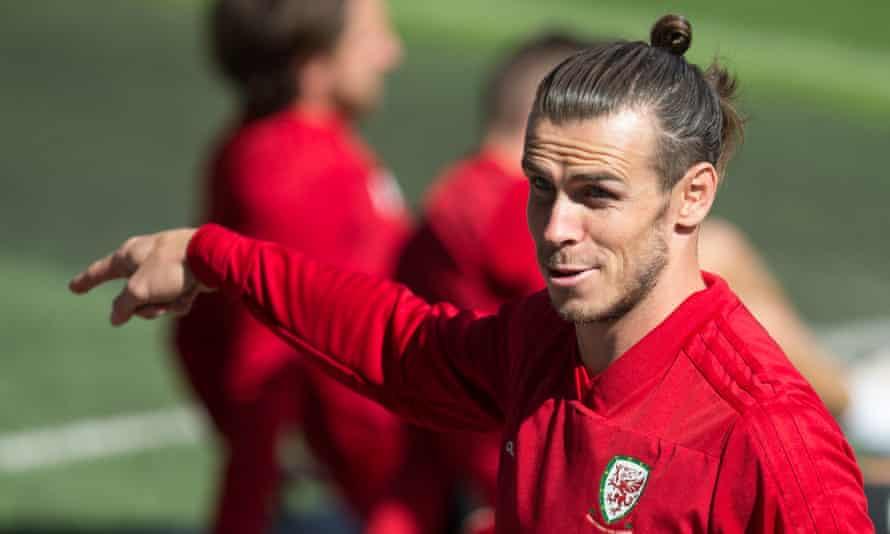 Gareth Bale, preparing for Wales's Euro 2020 qualifier against Azerbaijan