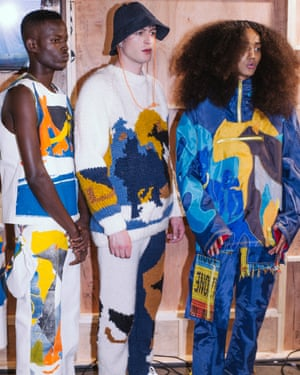 Williams' SS20 collection made from old bell tents, deadstock denim and knitwear