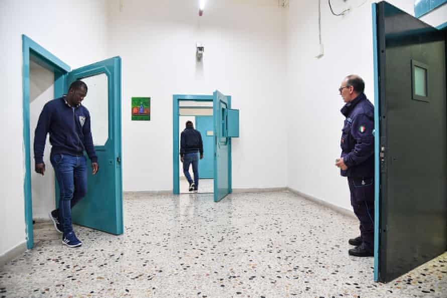 An Italian jail.