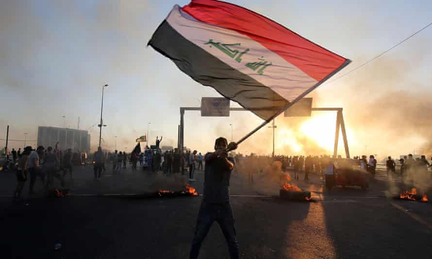 Iraq protester