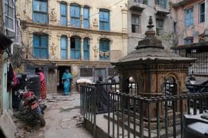 Peaceful courtyards in Kathmandu