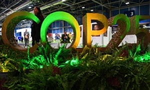 UN Climate Change Conference, COP25, in Madrid