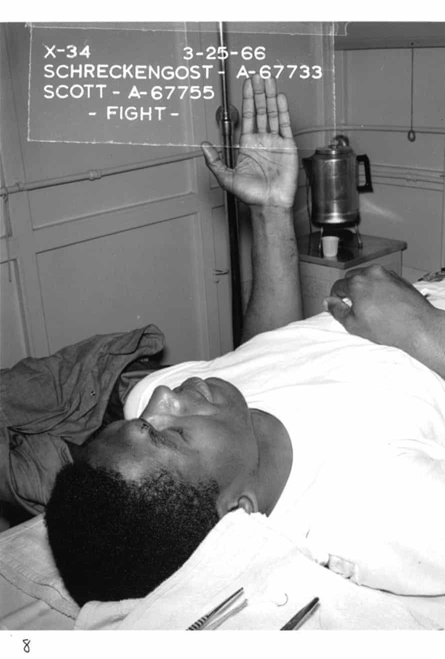 Fight in School Building 3-25-66, 1966, printed 2018.