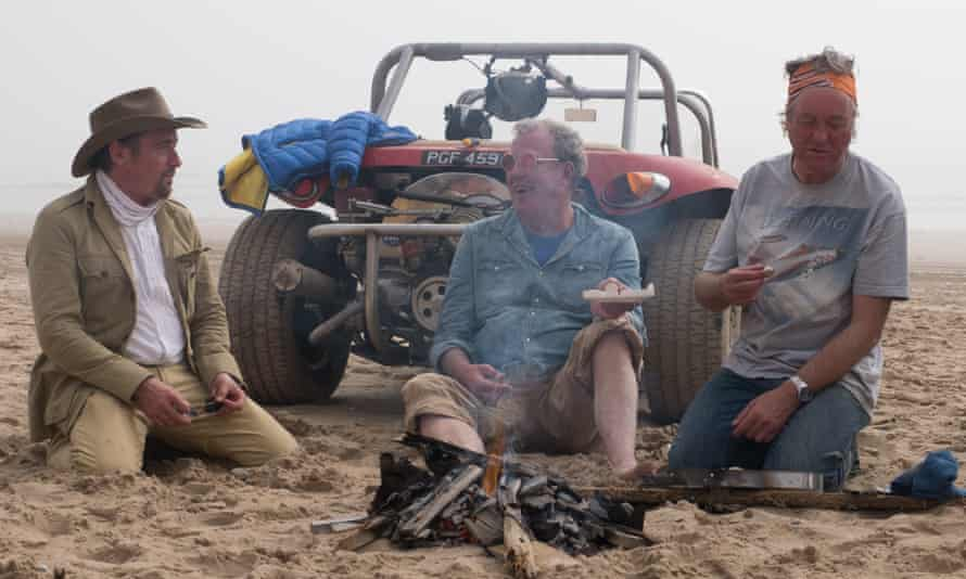 Sartorial missteps … the team in Namibia, the series high point despite the clothes.
