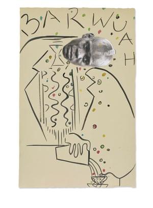 Chris Ofili, 'Barwuah 1'
