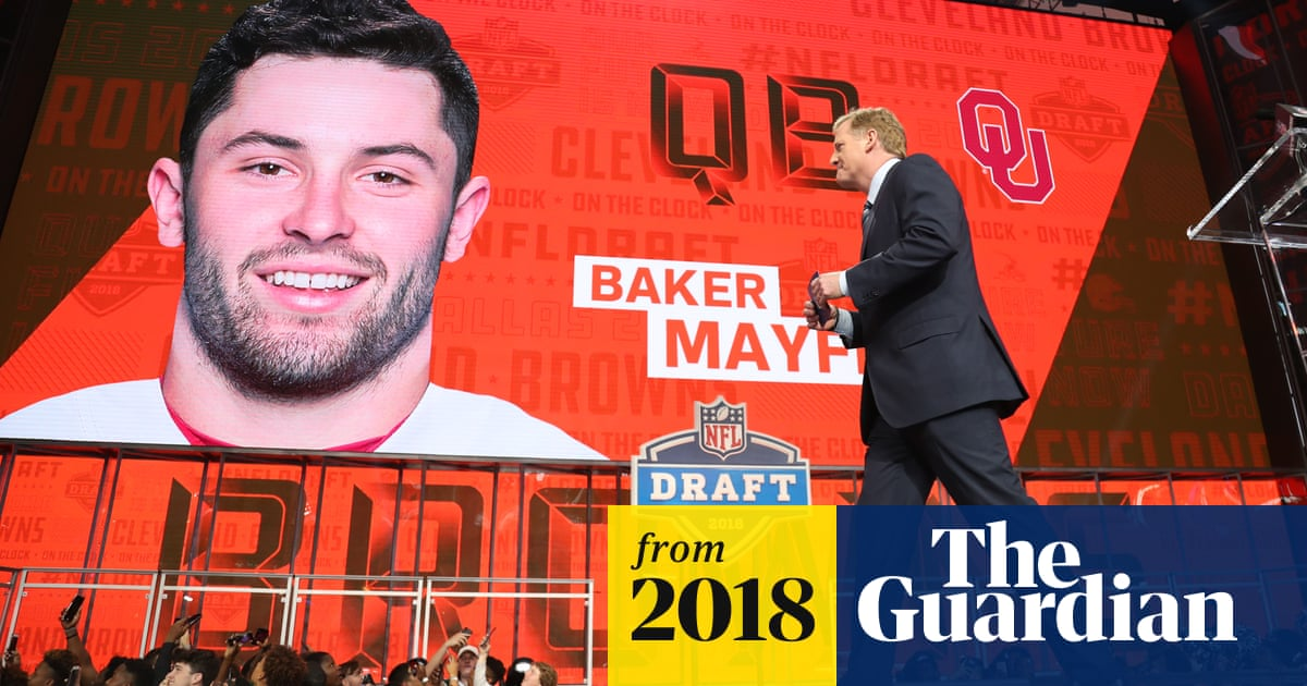 8f1e4fc709f NFL draft  Baker Mayfield picked No1 as Shazier makes emotional appearance
