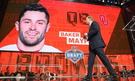 NFL draft  Baker Mayfield picked No1 as Shazier makes emotional appearance ecb47ff9e