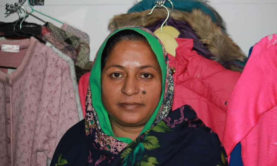Fauzia Begum, a Kashmir militant wife from Muzaffarabad