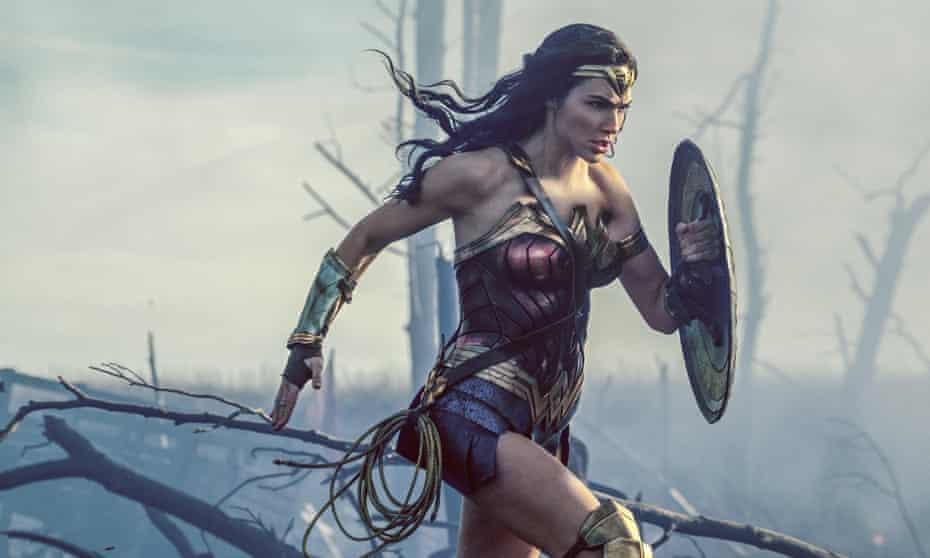 "Gal Gadot in a scene from ""Wonder Woman."" (Clay Enos/Warner Bros Entertainment via AP)"