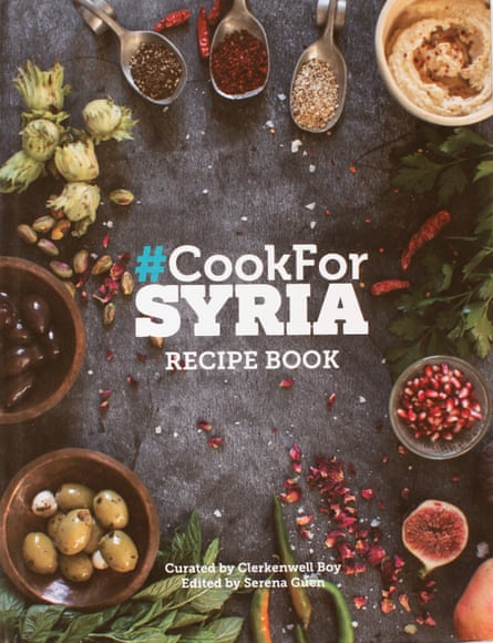 Clerkenwell Boy's #CookForSyria Recipe Book.