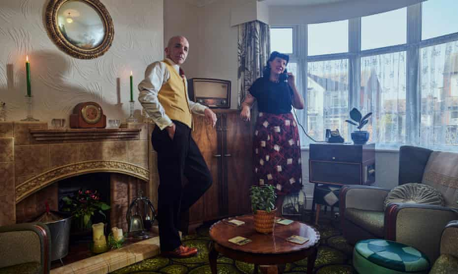 Vintage weekenders: Lisa Lane and Peter Baker, in love with each other and the 1930s.