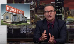 John Oliver on private equity groups buying mobile-home parks: 'The homes of some of the poorest people in America are being snapped up by some of the richest people in America.'