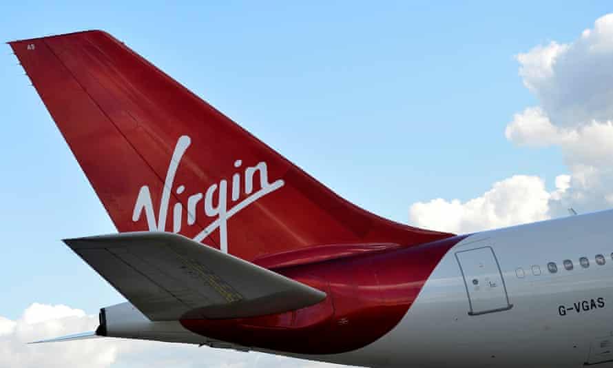 A Virgin plane