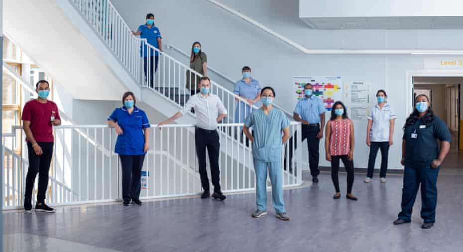 Barnet hospital stairwell