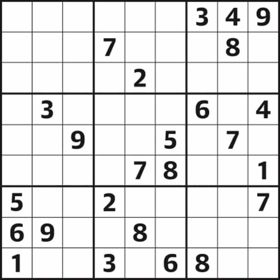 Sudoku 5,196 medium