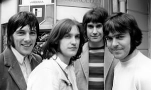 The Kinks in 1969: Mick Avory, Dave Davies, Ray Davies and John Dalton.