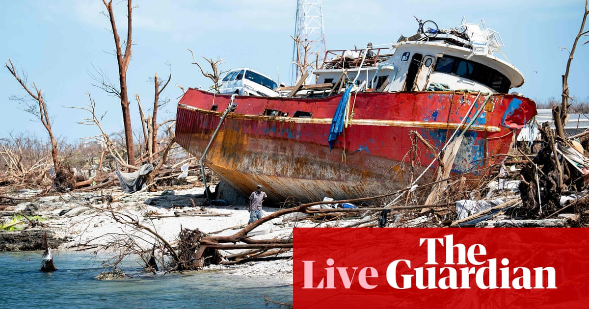 Hurricane Dorian: 70,000 in 'immediate need of lifesaving' help in Bahamas – live
