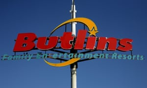 A Butlin's sign at the entrance to its Bognor Regis camp