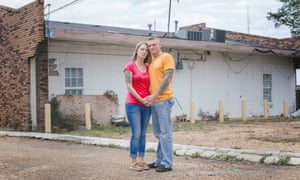 Benny Ivey met Kristina Arnold at the Common Bond rehabilitation center in Jackson, Mississippi, where he finally kicked his meth habit after 20 years.