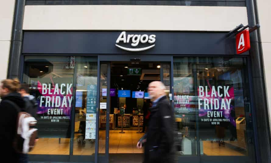 Argos is offering Black Friday deals for a fortnight.