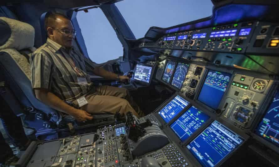 Thai Airways is also selling time in its Airbus and Boeing flight simulators