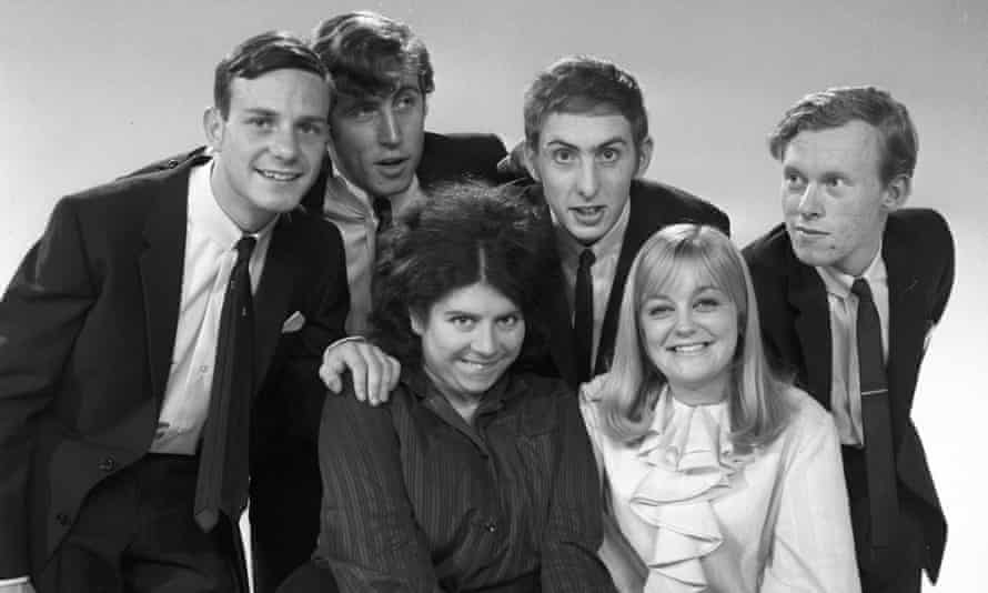 Archive pic of Footlights Review with Miriam Margolyes, Susan Hanson, David Gooderson,John Cameron, Eric Idle and Graeme Garden