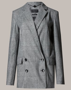 M&S autograph Prince of Wales check jacket, £79