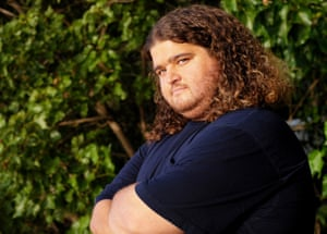Hurley in Lost.