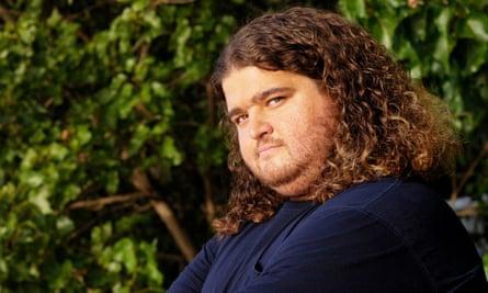 Sole survivor: Jorge Garcia as Hurley.