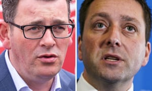 Victorian premier Daniel Andrews and Liberal leader Matthew Guy hold the only televised debate of the Victoria election.