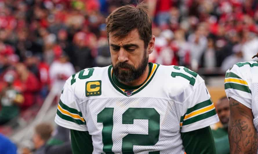 Aaron Rodgers may well be thinking of his next destination