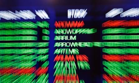 Arrium's stock listing